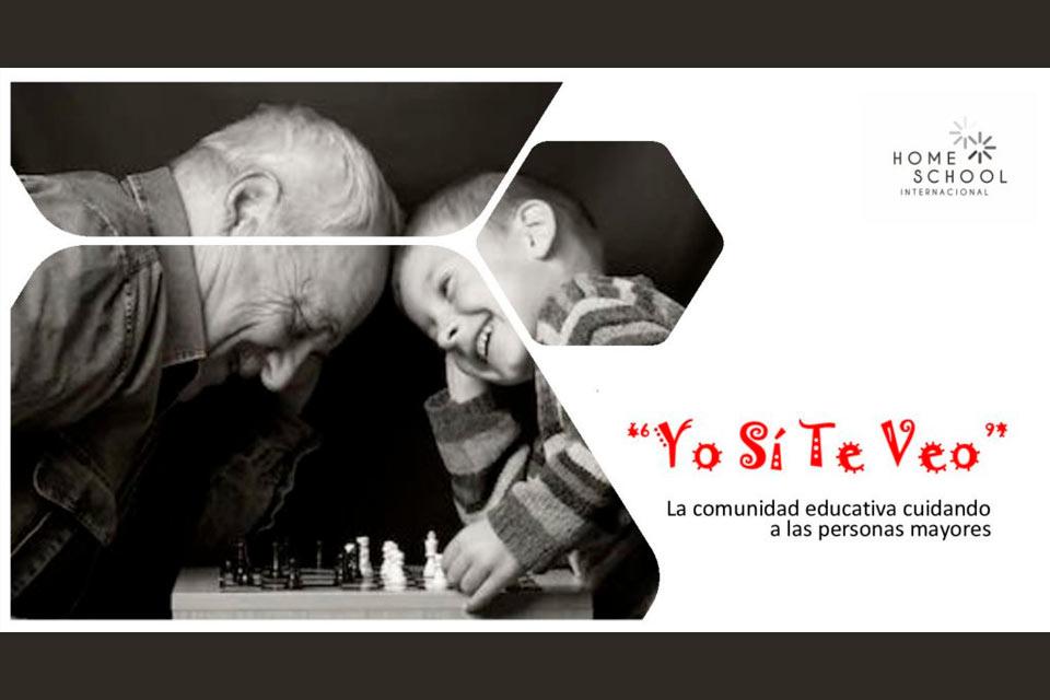 Proyecto intergeneracional «Yo sí te veo»